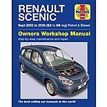 Haynes Renault Scenic (03 to 06) Manual