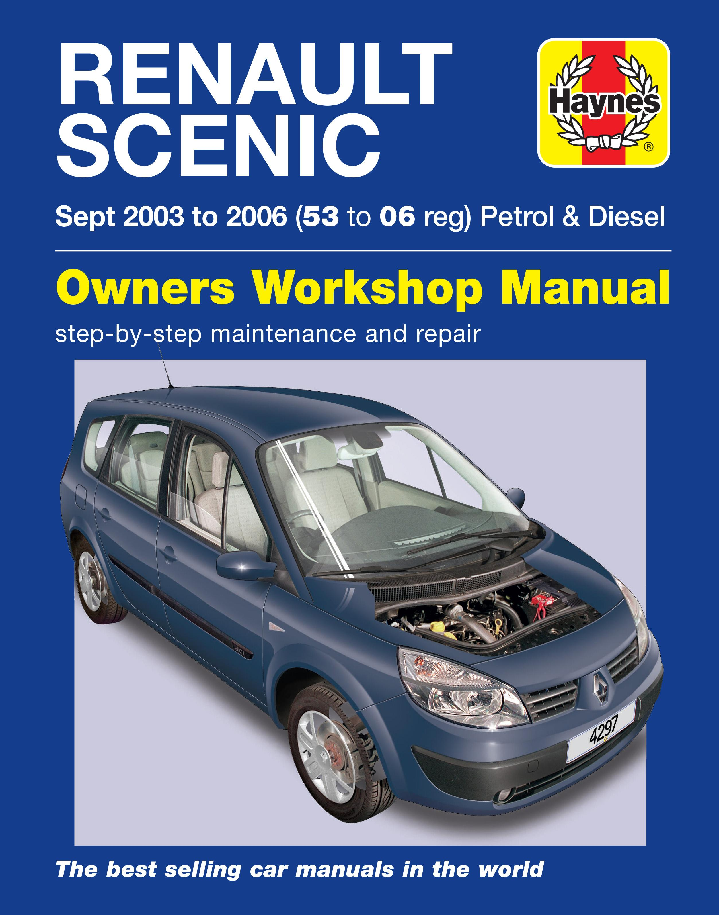haynes renault scenic 03 to 06 ma rh halfords com renault scenic ii workshop manual renault scenic 2 service manual download