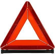 image of Halfords Car Warning Triangle