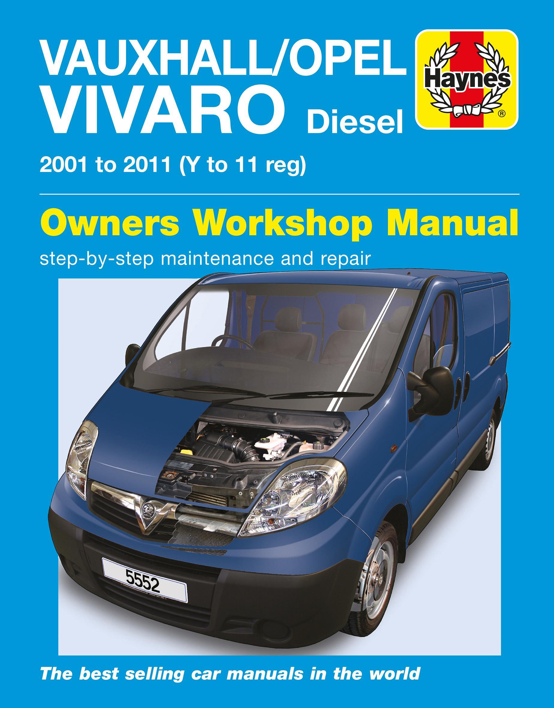 haynes vauxhall opel vivaro diesel rh halfords com Vauxhall Vivaro Interior Vauxhall Vivaro Camper