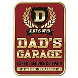 Dad's Garage Keepsake Tin