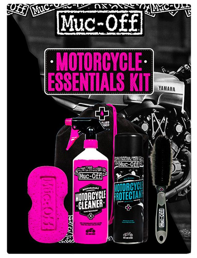 Halford Motorcycle Care Essentials Kit