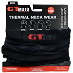 image of GTmoto Thermal Neckwear - Black - 1 Pack 2017