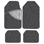Michelin Premium 4 Piece Carpet Car Mat Set Black