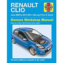 image of Haynes Renault Clio (09-12) Manual