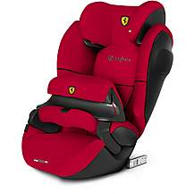 image of Cybex x Ferrari Pallas M-Fix SL Baby Car Seat - Red