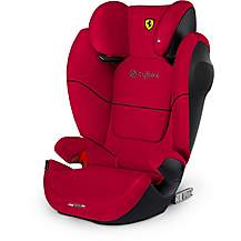 image of Cybex x Ferrari Solution M-Fix SL Toddler Car Seat - Red