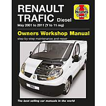 image of Haynes Renault Trafic Diesel (01-11) Manual