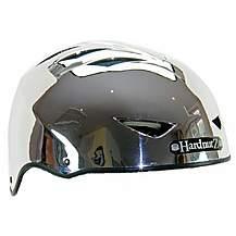 image of HardnutZ Auto Chrome Street Bike Helmet - Large 58-61cm