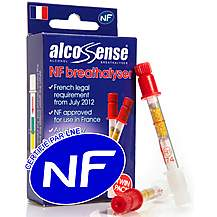 image of Alcosense Single Use NF Breathalyser Twin Pack