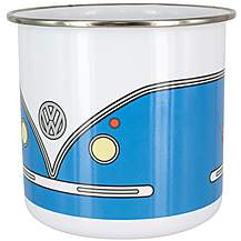 image of Campervan Enamel Mug - Blue