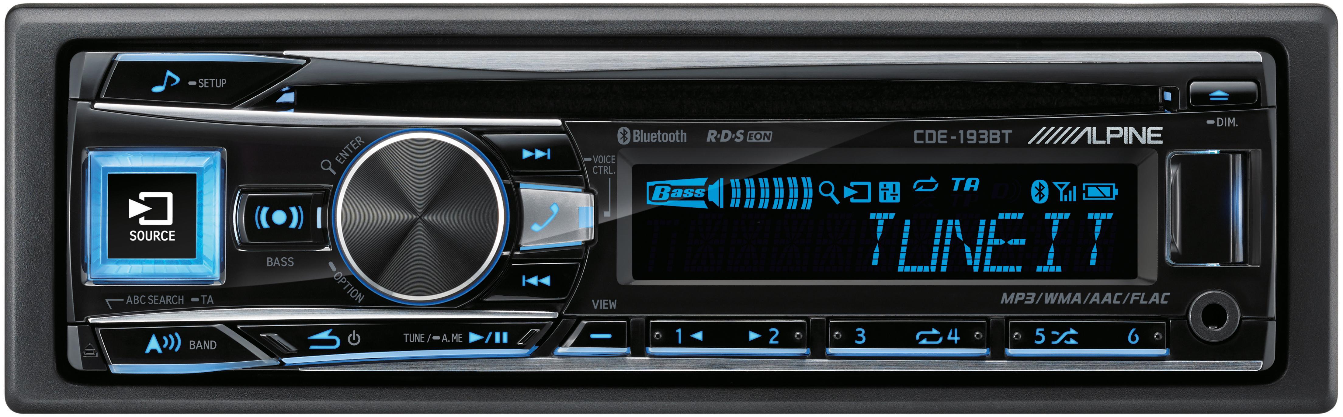 alpine cde 193bt car stereo with ad rh halfords com Alpine BT Alpine BT