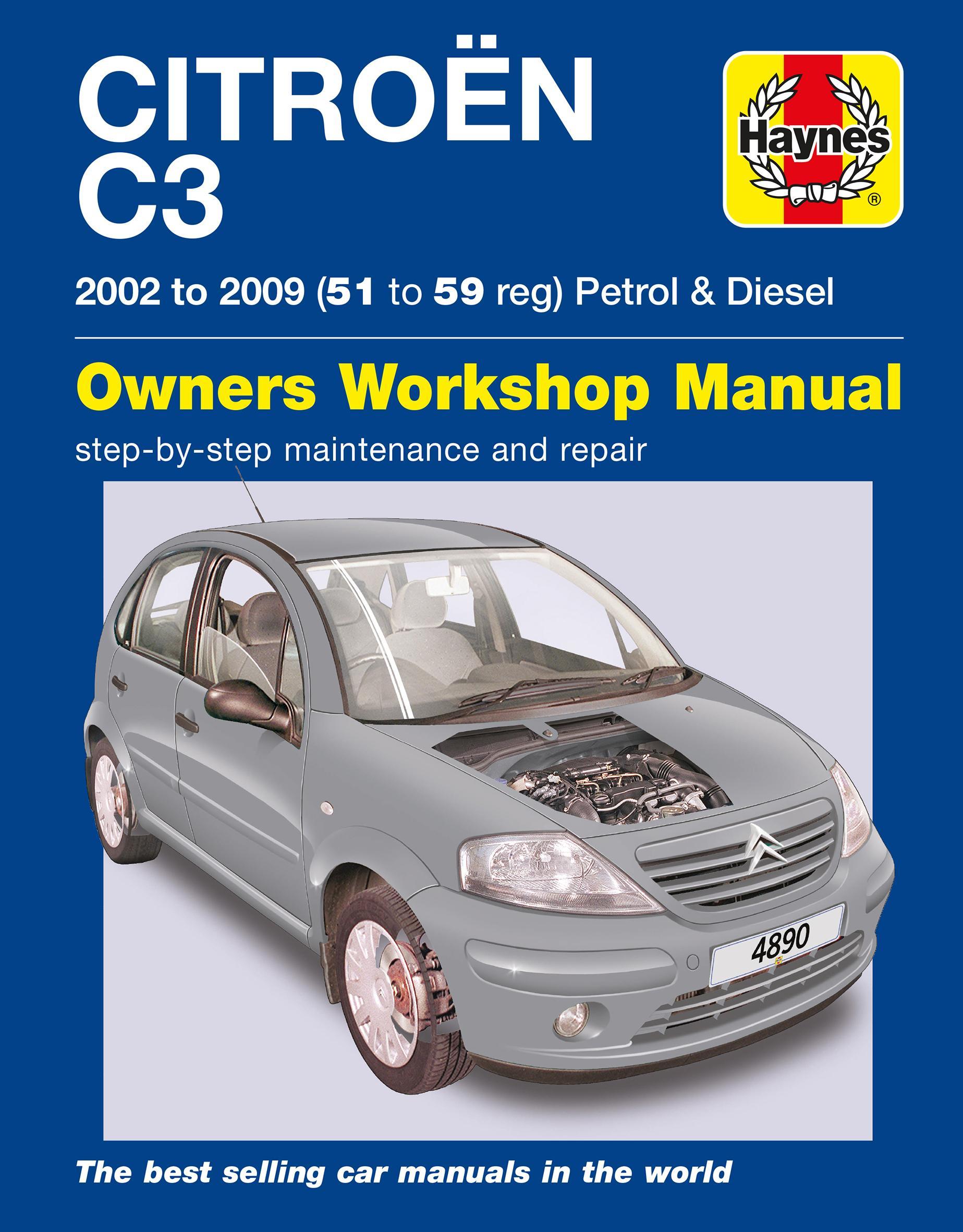 Citroen C3 Starter Motor Wiring Diagram Library Pluriel Haynes Petrol Diesel