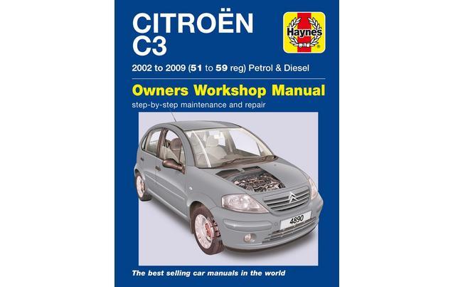 haynes citroen c3 petrol & diesel (
