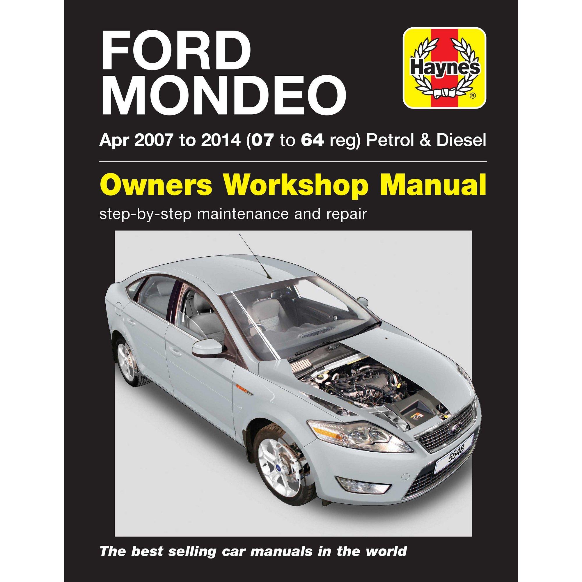 ... Haynes Ford Mondeo Petrol and Diesel Manual ( €24.99 (1) Reserve