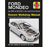Haynes Ford Mondeo Petrol and Diesel Manual (07 - 12)