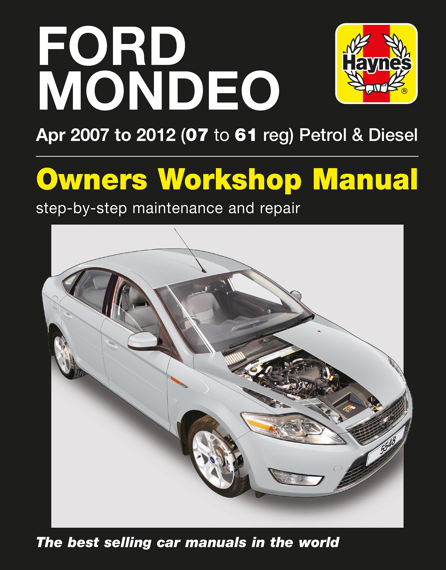 haynes ford mondeo petrol and diese rh halfords com ford fiesta 1.4 tdci service manual download ford mondeo 2.0 tdci workshop manual