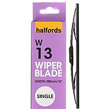 Halfords W13 Wiper Blade - Single