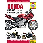 image of Haynes Honda CBF 1000 Motorcycle Manual