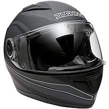 Duchinni D705 Black/Gunmetal Full Face Motorc