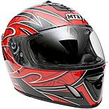 MYX Full Face Motorcycle Helmet - Graphic