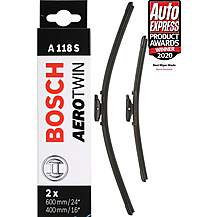 image of Bosch A118S Wiper Blades - Front Pair