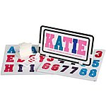 image of Bike Number Plate - Pink & Purple