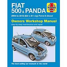 image of Haynes Fiat 500 & Panda (04 - 12) Manual