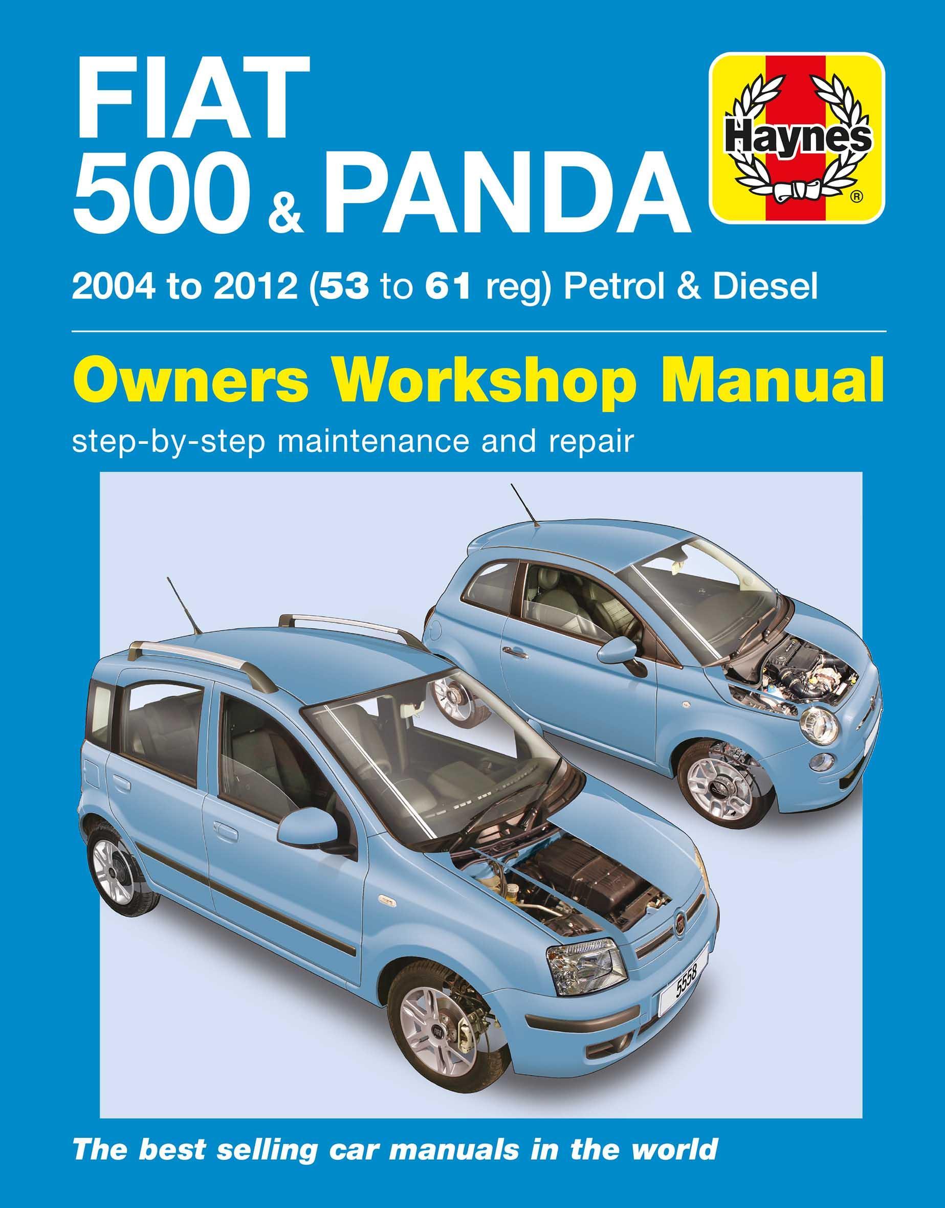 haynes fiat 500 panda 04 12 m rh halfords com Fiat 500 Stick Shift Abarth Manual