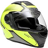 Duchinni D811 Gloss Black/Neon Motorcycle Helmet