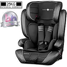 image of Cozy N Safe Hudson Group 1/2/3 Child Car Seat - Black
