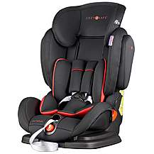 image of Cozy N Safe Olympus Group 1/2/3 Child Car Seat - Black/Red