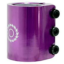 image of Razor Scooter Triple Clamp - Purple