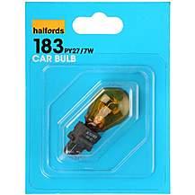 image of Halfords 183 PY27/7W Car Bulb x 1