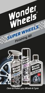 Wonder Wheels Super Wheels Finishing Kit