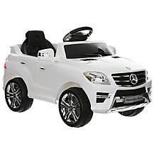 image of Mercedes ML350 6v Electric Ride on Car with Remote