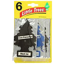 image of Little Tree New Car/Black Ice 6 Pack Air Freshener