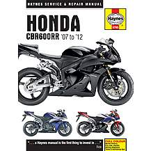 image of Haynes Honda CBR600RR Motorcycle Manual