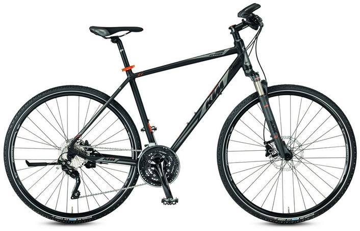 ktm life action mens hybrid bike - 2017