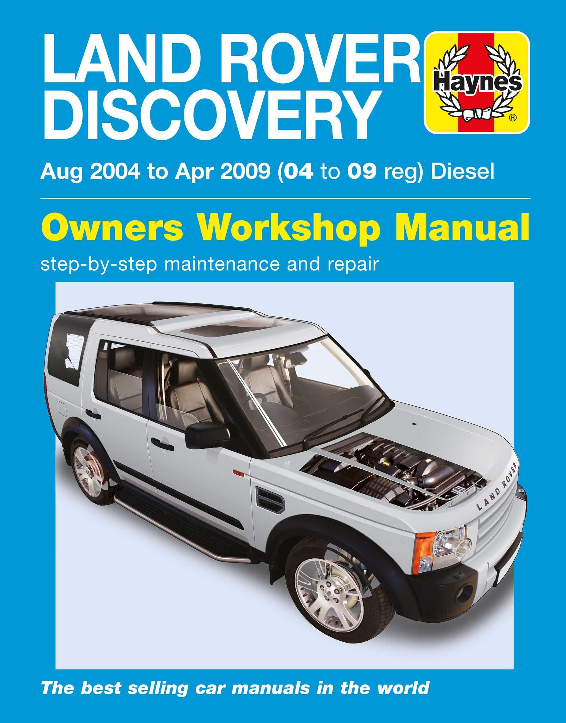 haynes land rover discovery diesel rh halfords com land rover haynes manual land rover defender workshop manual puma