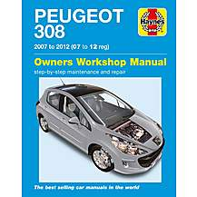image of Haynes Peugeot 308 (07- 12) Manual