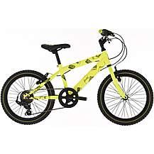 "image of Raleigh Beatz Bike 6sp Yellow - 18"" Wheel"