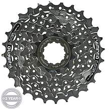 image of Shimano CS-HG41 7 Speed Cassette 11-28T