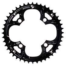 image of Shimano FC-M440 Chainring 44T - Black