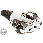 image of Shimano M520 MTB SPD Pedals Two Sided Mechanism Pedals White