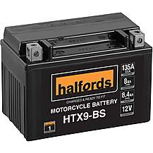 image of Halfords HTX9-BS Motorcycle Battery