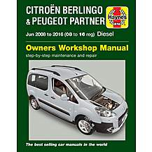 image of Citroen Berlingo & Peugeot Partner Diesel (2008-2016)