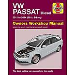 Volkswagon Passat Diesel (2011-2014) Haynes Manual