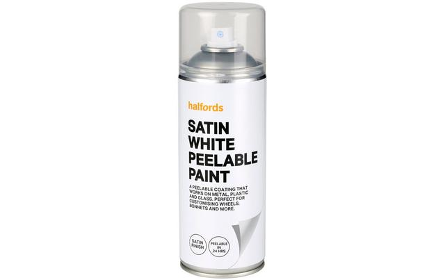 Halfords Peelable Paint White