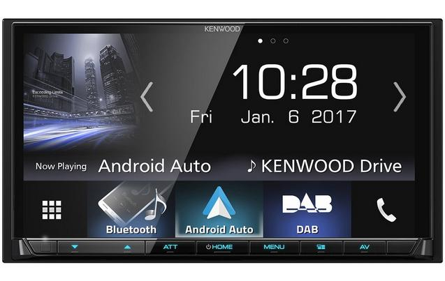 Kenwood Dmx 7017dabs Carplay Android Auto Car Stereo